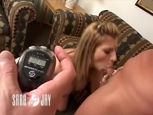 Sara jay blowjob race